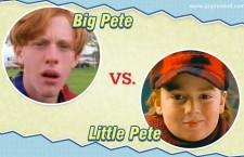 Big Pete vs. Little Pete