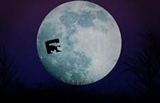 E.T. game on E.T. ride Video