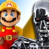 Super Mario Maker: Terminator Style