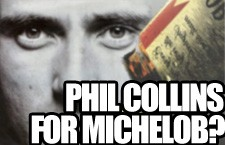 That Time Phil Collins Watched a Man Watch a Man Drown in a Michelob Beer Commercial