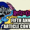 RetroDaze Fifth Annual Article Writing Contest