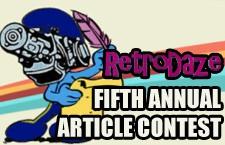 RetroDaze Fifth Annual Article Writing Contest